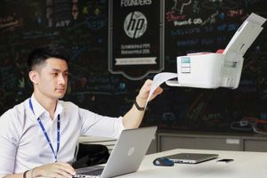 HP internship technology print